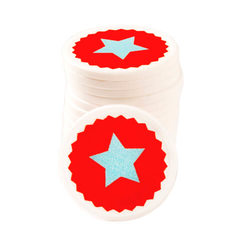 Printed Tokens In Stock ø 29mm - Star