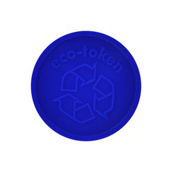 Embossed ECO-Token - Personalised & Standard Design