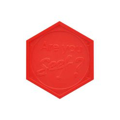 Embossed Token : Hexagon - Personalised